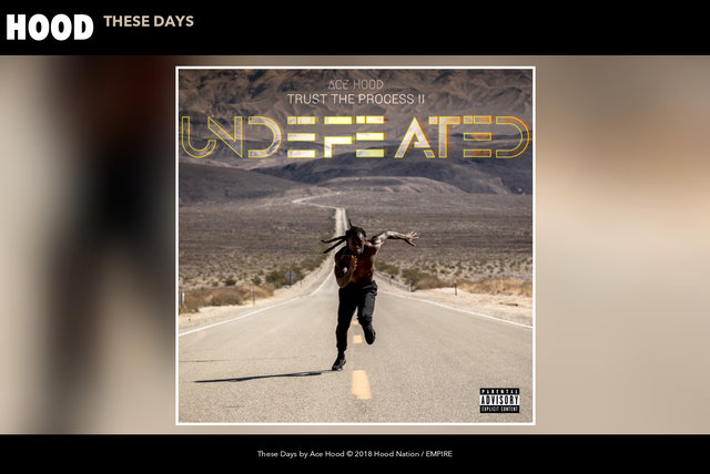 These Days (Audio)