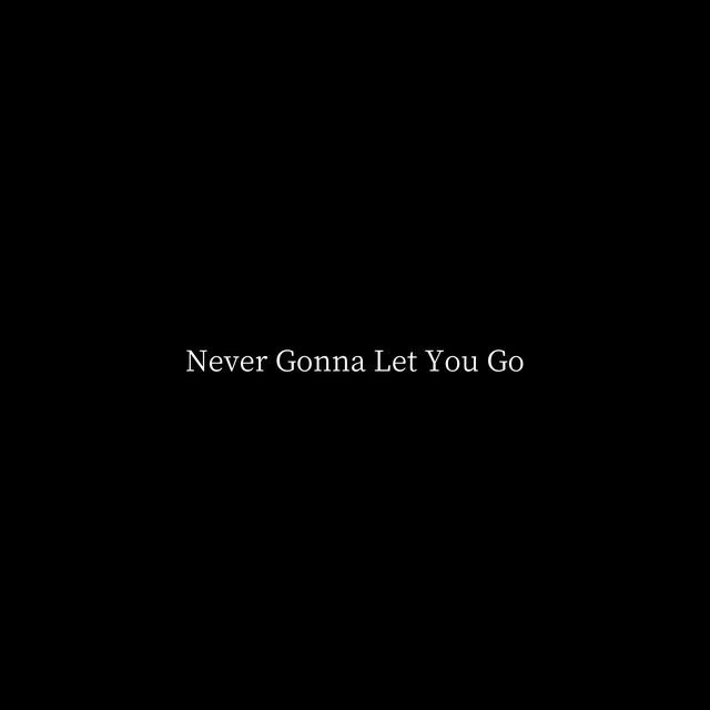 Never Gonna Let You Go