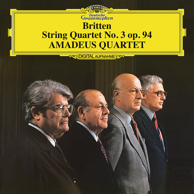 Britten: String Quartet No.3, Op.94 (Live)