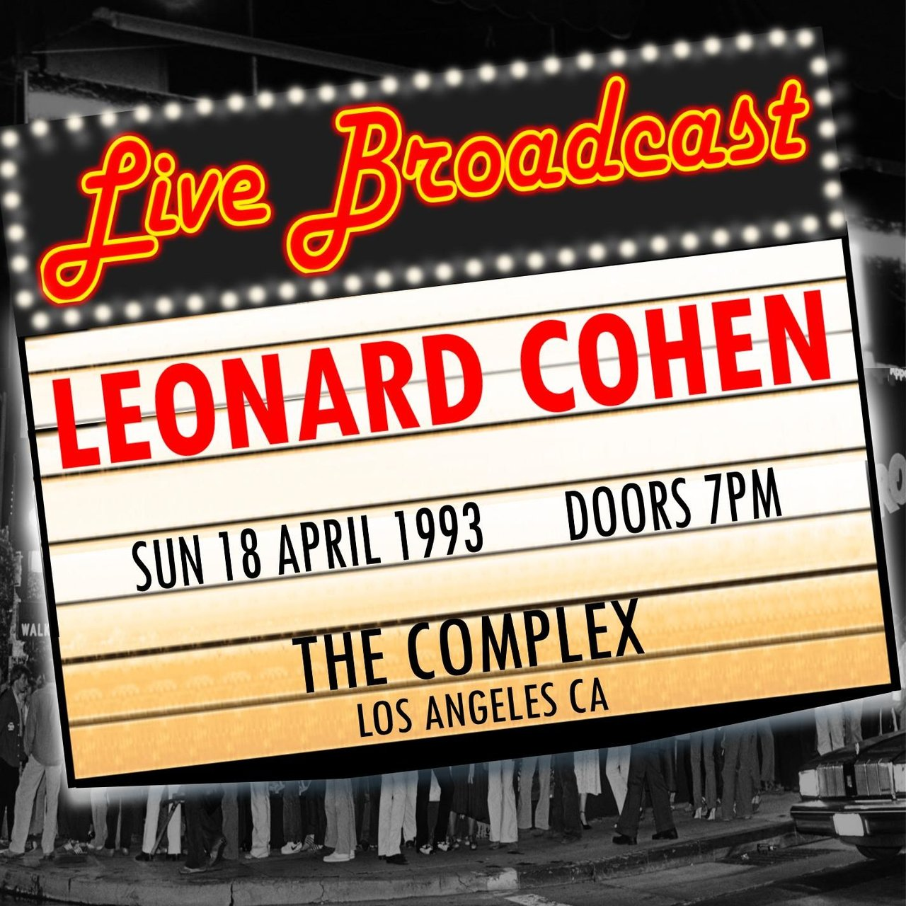 Live Broadcast - 18th April 1993  The Complex