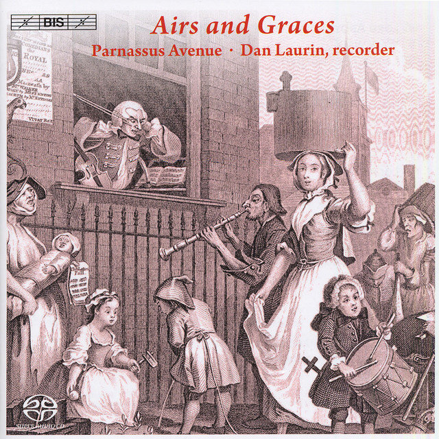 Baroque Music: Laurin, Dan / Parnassus Avenue - Stanley, J. / Handel, G.F. / Geminiani, F. / Roman, J.H. / Traditional Scottish Tunes (Airs and Graces