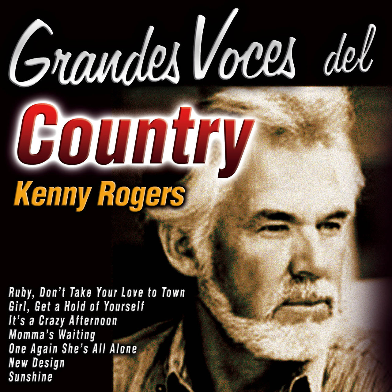 TIDAL: Listen to Grandes Voces del Country: Kenny Rogers on TIDAL