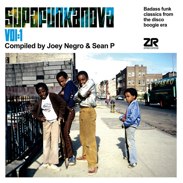 Supafunkanova Vol. 1 Compiled by Joey Negro & Sean P