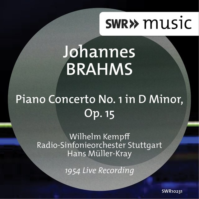 Brahms: Piano Concerto No. 1 in D Minor, Op. 15 (Live)