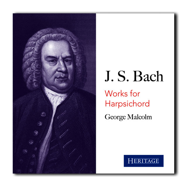 George Malcolm Plays Bach