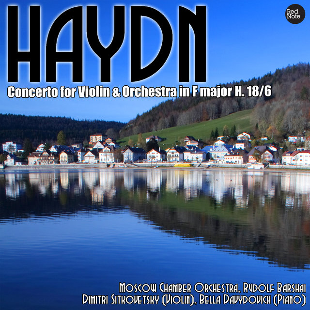 Haydn: Concerto for Violin & Orchestra in F major H. 18/6