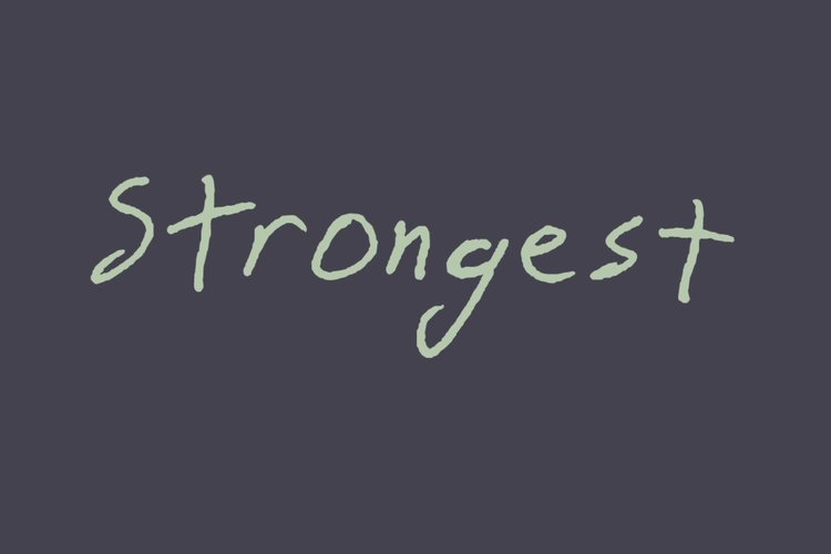 Strongest (Lyric Video)