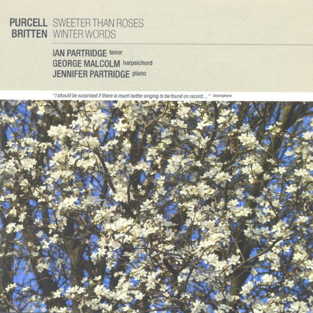 Purcell: Sweeter than Roses / Britten: Winter Words