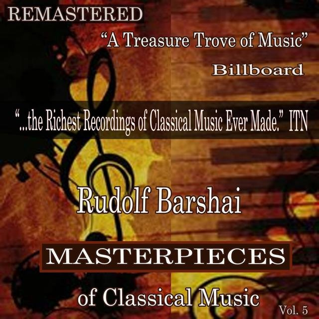 Rudolf Barshai - Masterpieces of Classical Music Remastered, Vol. 5