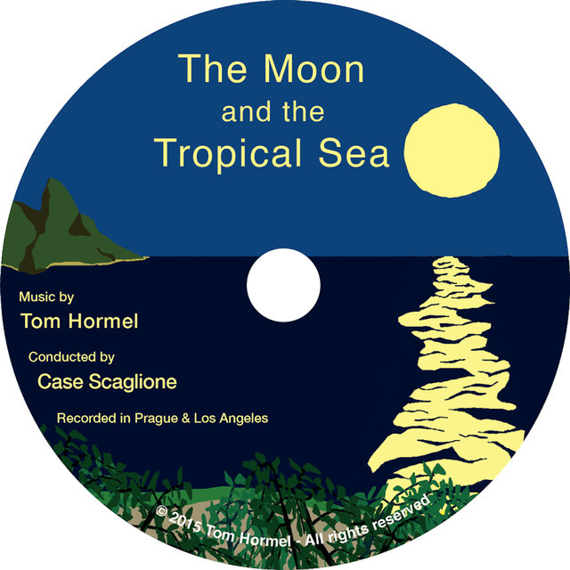 The Moon and the Tropical Sea