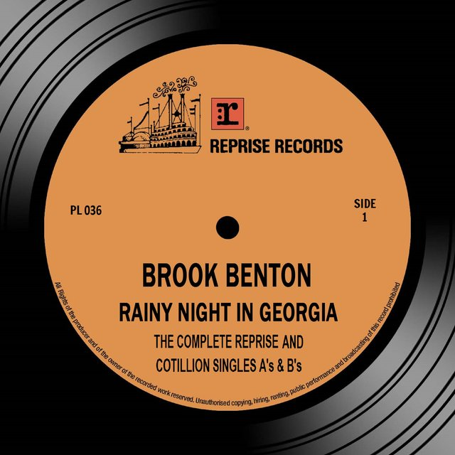 Rainy Night in Georgia: The Complete Reprise & Cotillion Singles A's & B's