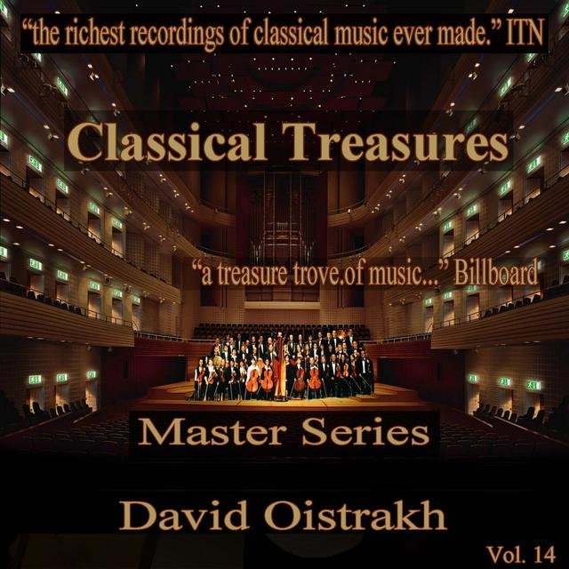 Classical Treasures Master Series - David Oistrakh, Vol. 14