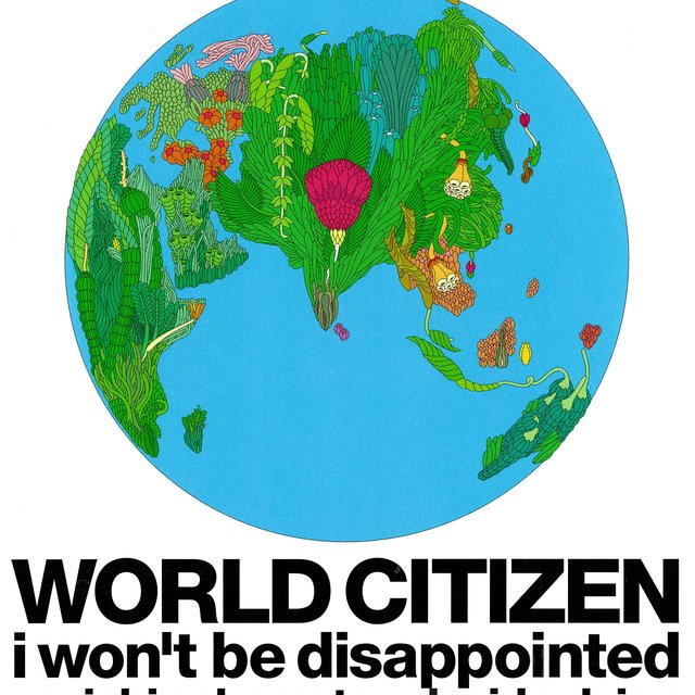 WORLD CITIZEN -i won't be disappointed-