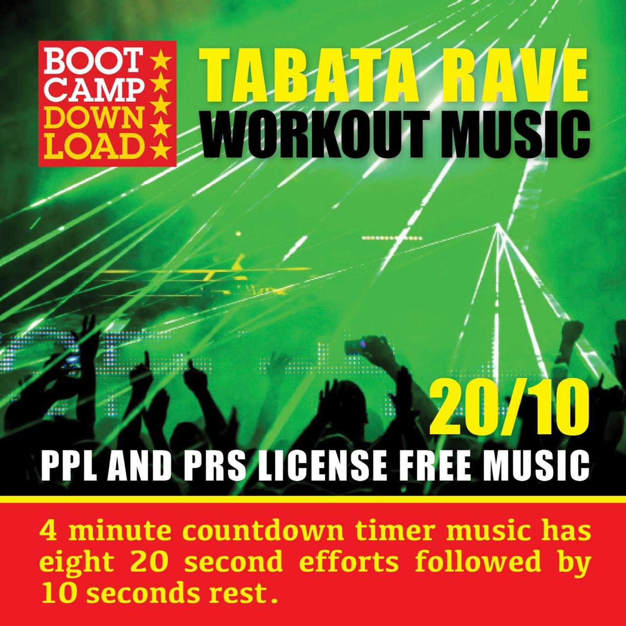 Tidal Listen To Tabata Countdown Timer With Fitness Rave Workout Workouts Timers For Hiit And Circuit Training Are Included Music 20 10 On