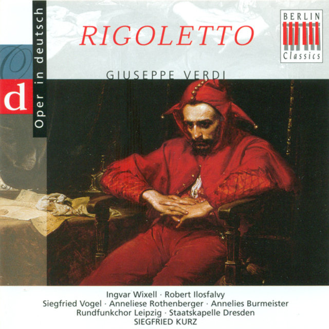 Verdi: Rigoletto (Opera) [Highlights] [Sung in German]
