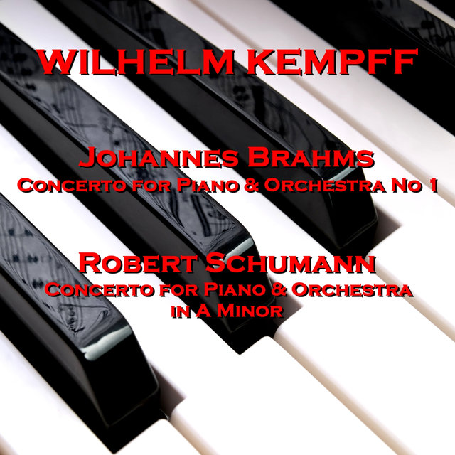 Brahms: Concerto for Piano & Orchestra No 1 and Schumann: Concerto for Piano and Orchestra in A Minor