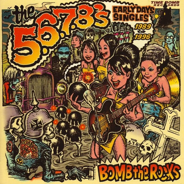 Bomb The Rocks: Early Days Singles 1989-1996
