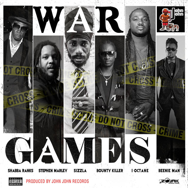 War Games (feat. Stephen Marley, Sizzla, Bounty Killer, I-Octane & Beenie Man) - Single
