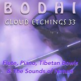 Cloud Etchings (Tibetan Bowls and Storm)