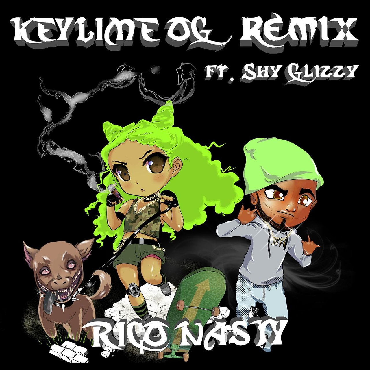 Key Lime OG (Remix) [feat. Shy Glizzy]