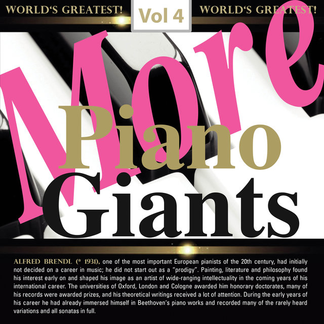 More Piano Giants: Alfred Brendel, Vol. 4