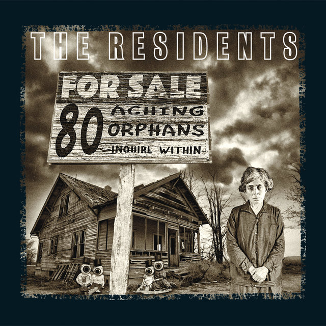 80 Aching Orphans: 45 Years Of The Residents 4cd Hardback Book Anthology Set