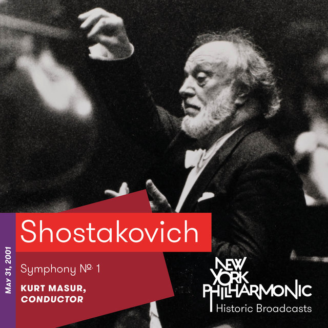 Shostakovich: Symphony No. 1 (Recorded 2001)