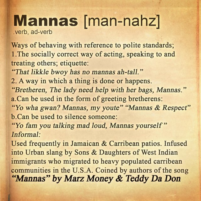 Mannas (feat. Teddy Da Don)