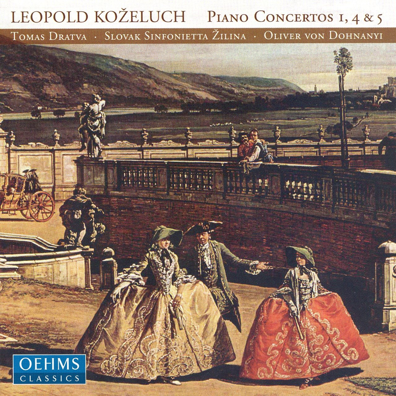 Kozeluch: Piano Concertos Nos. 1, 4 and 5