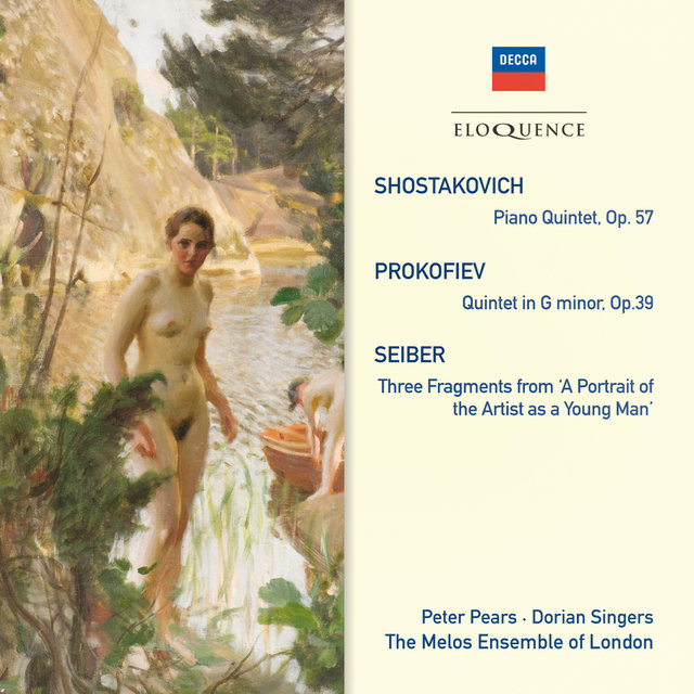 Shostakovich: Piano Quintet; Prokofiev: Quintet In G Minor; Seiber: Three Fragments