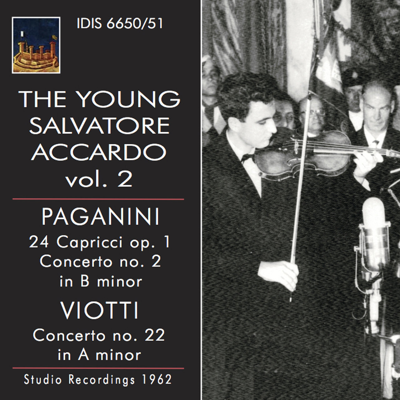 The Young Salvatore Accardo, Vol. 2 (1962)