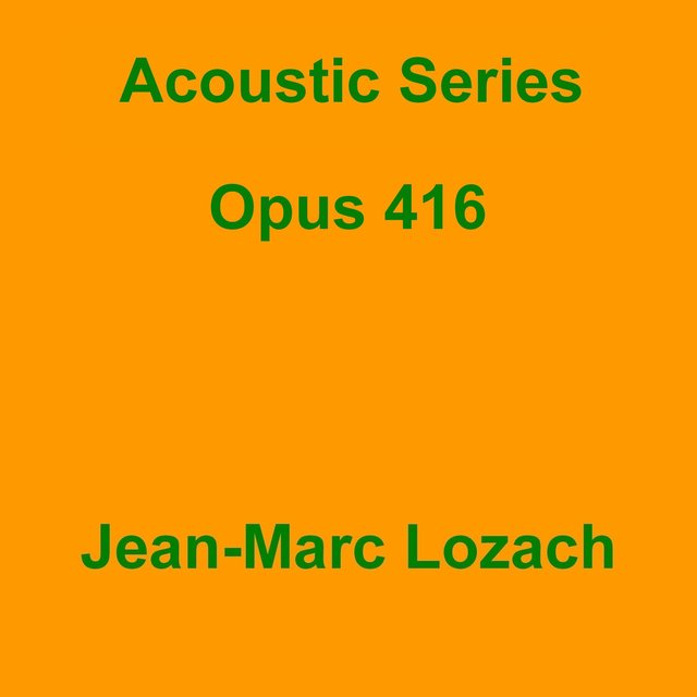 Acoustic Series Opus 416