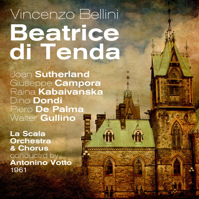 Vincenzo Bellini: Beatrice di Tenda (1961), Volume 1