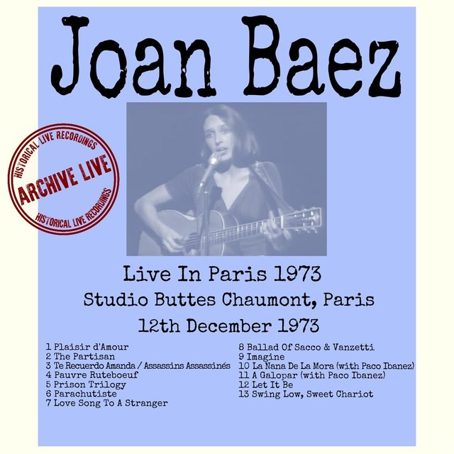Live in Paris 1973