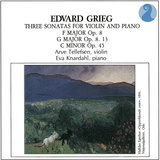 Grieg: Sonata for Violin and Piano in F major, op.8 (1865) - Allegro con brio