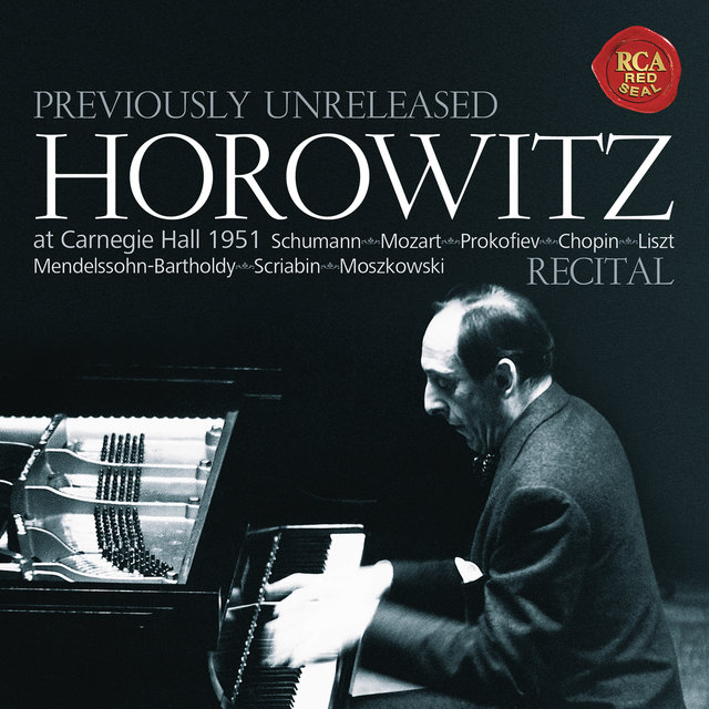 Horowitz - Recital at Carnegie Hall 1951
