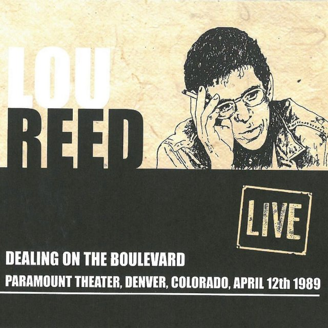 Dealing On The Boulevard: Paramount Theater, Denver, CO, April 12th 1989