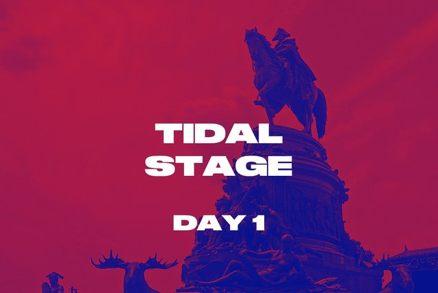 TIDAL Stage Day 1
