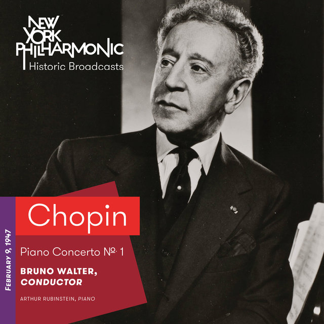 Chopin: Piano Concerto No. 1 (Recorded 1947)