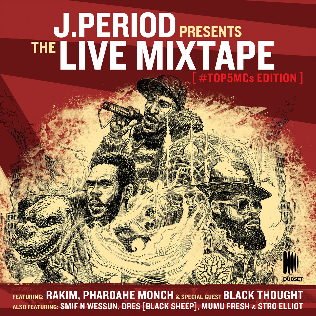 The Live Mixtape (#Top5MCs Edition) (DJ Mix)