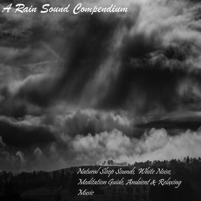 A Rain Sound Compendium - Natural Sleep Sounds, White Noise, Meditation Guide, Ambient & Relaxing Music